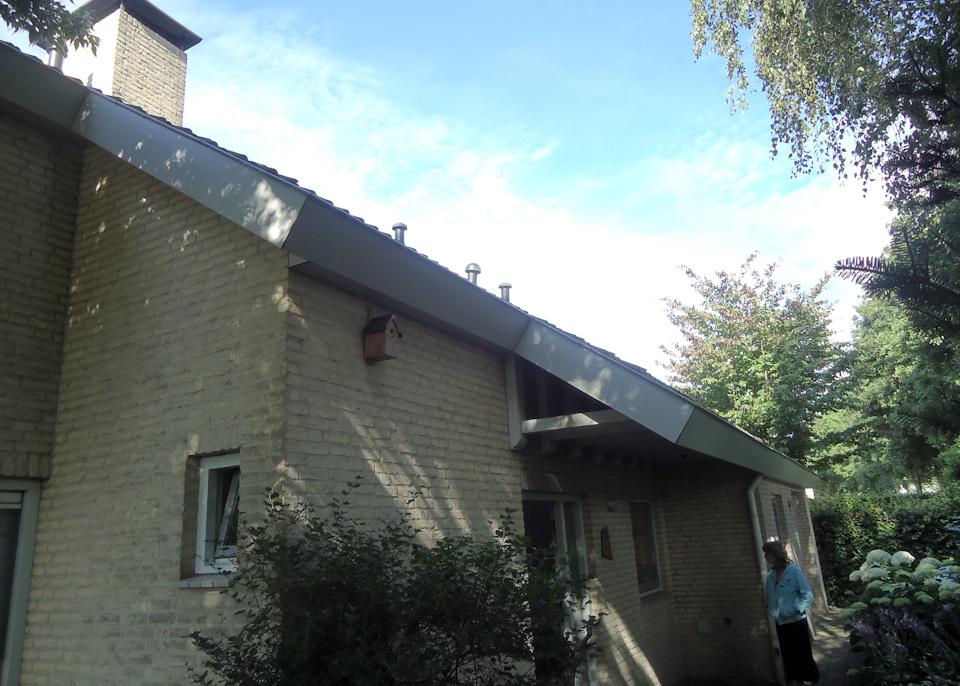 overstek dak maken